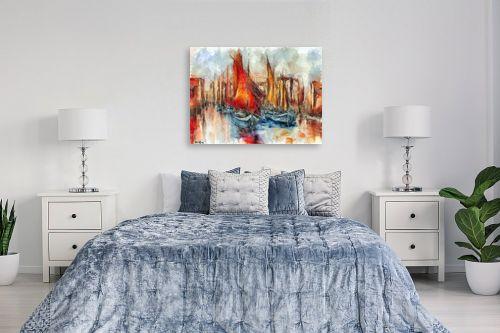תמונה לחדר שינה - בן רוטמן - המשט האדום - מק''ט: 263822
