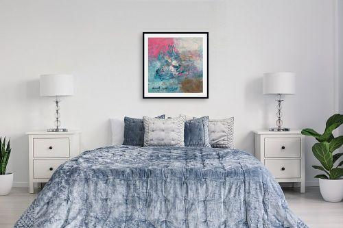 תמונה לחדר שינה - ורד אופיר - רקוד - מק''ט: 263869
