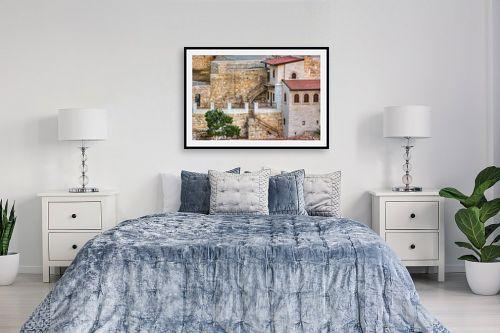 תמונה לחדר שינה - איזבלה אלקבץ - מנזר המרסבא - מק''ט: 268426