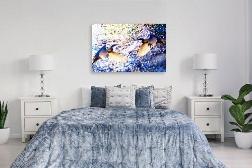 תמונה לחדר שינה - אורית גפני - זוגיות שמיימית - מק''ט: 270716