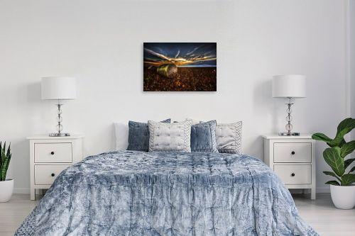 תמונה לחדר שינה - אוהד דאיה - ללא שם - מק''ט: 271689