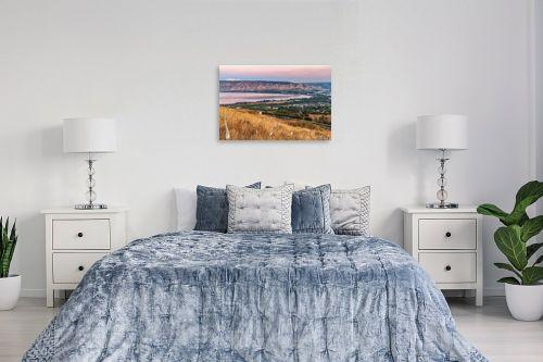 תמונה לחדר שינה - מיכאל שמידט - חצבים עם נוף לכנרת - מק''ט: 273547