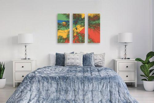 תמונה לחדר שינה - רעיה גרינברג - שקיעה במדבר - מק''ט: 273602