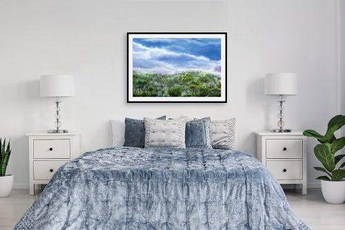 תמונה לחדר שינה - אורי רדלר - מעבר לגבעה - מק''ט: 279028