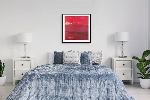 תמונה לחדר שינה - ורד אופיר - שדה קוצים - מק''ט: 280902