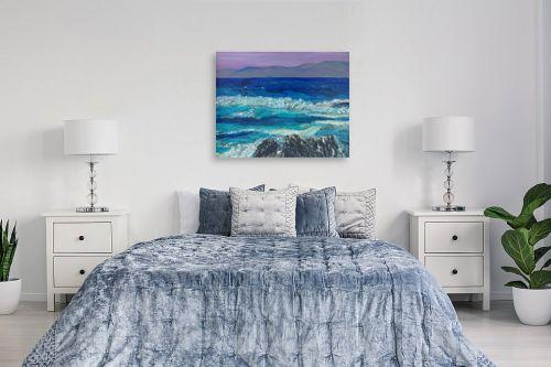 תמונה לחדר שינה - אסתר חן-ברזילי - גאות הים - מק''ט: 284228