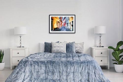 תמונה לחדר שינה - אורית גפני - מעבר לזמן - מק''ט: 289268