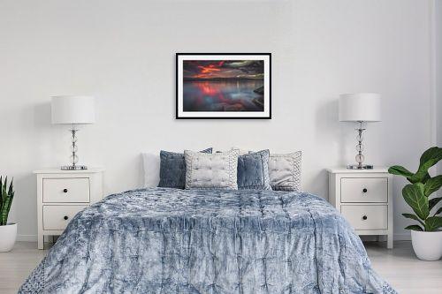 תמונה לחדר שינה - מיכאל שמידט - סירה בערמת ים.. - מק''ט: 293500