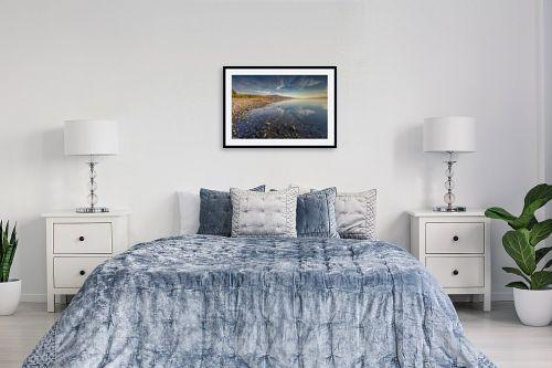 תמונה לחדר שינה - מיכאל שמידט - שמיים אדמה וים.. - מק''ט: 293599