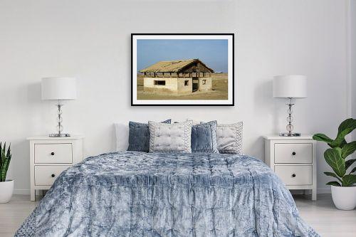 תמונה לחדר שינה - אורטל פרץ - בית קטן בערבה - מק''ט: 297041