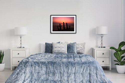 תמונה לחדר שינה - אלי נגר - חמש אצבעות  - מק''ט: 303967