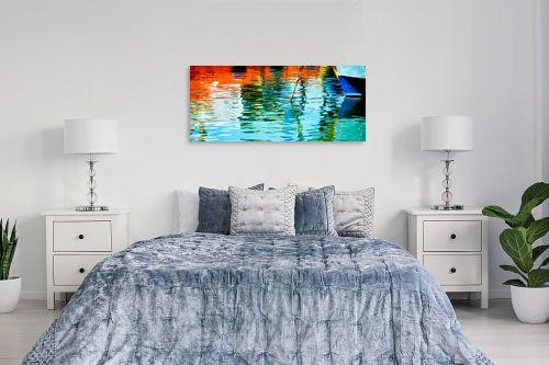 תמונה לחדר שינה - אורית גפני - צבעים בנמל - מק''ט: 312882