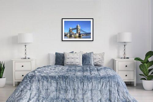 תמונה לחדר שינה - מתן הירש - Tower Bridge - מק''ט: 313258
