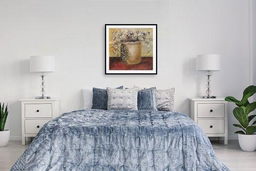 תמונה לחדר שינה - דיאנה אורן - עציץ - מק''ט: 316196