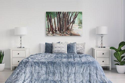 תמונה לחדר שינה - אסתר טל - עצים - מק''ט: 316248