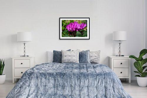 תמונה לחדר שינה - ארי בלטינשטר - טיפות של סגול - מק''ט: 320016