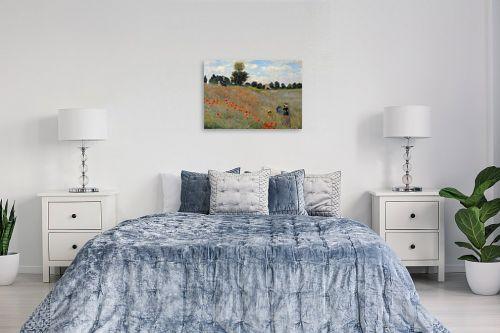 תמונה לחדר שינה - קלוד מונה - Wild poppies - מק''ט: 322606