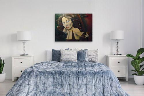 תמונה לחדר שינה - אילה ארויו - חץ וקשת ומה שביניהם - מק''ט: 323393