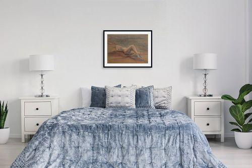 תמונה לחדר שינה - חני שפר - מי זאת עולה מן המדבר - מק''ט: 325493