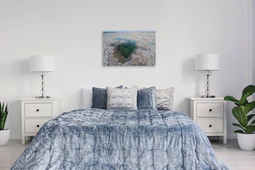 תמונה לחדר שינה - גל מאירי - גבישי מלח - מק''ט: 327469