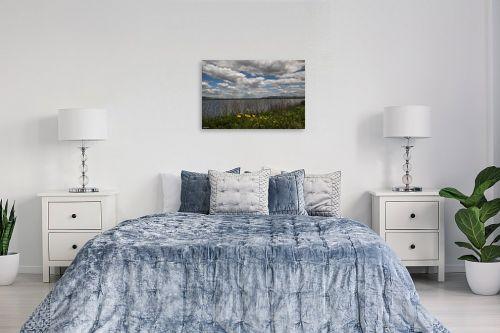 תמונה לחדר שינה - אלעד דרור - אגם עונתי - מק''ט: 329830