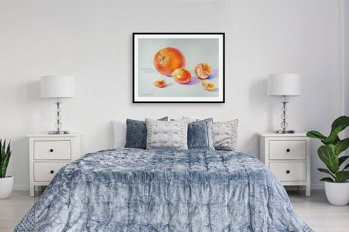 תמונה לחדר שינה - נטליה ברברניק - תפוז ומנדרינות - מק''ט: 330619