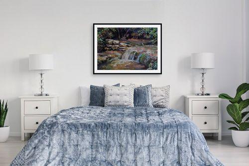 תמונה לחדר שינה - נטליה ברברניק - נחל יערית - מק''ט: 330648