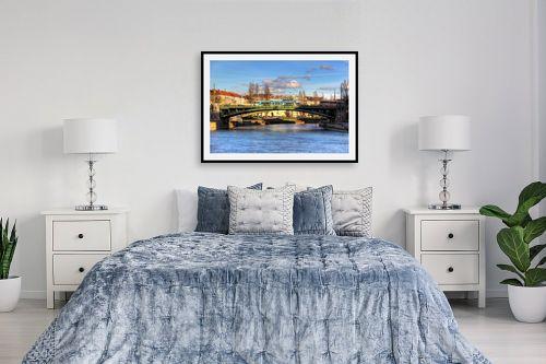 תמונה לחדר שינה - מתן הירש - נהר בוינה - מק''ט: 330942