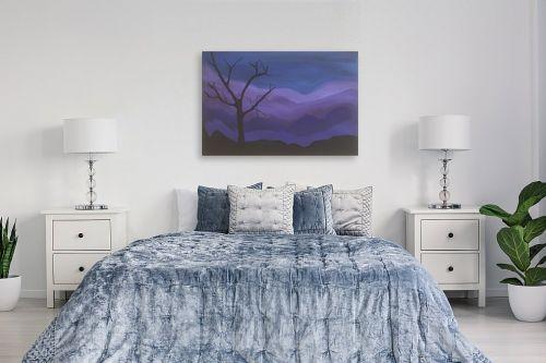 תמונה לחדר שינה - אילה ארויו - נוף מדברי קסום - מק''ט: 331199