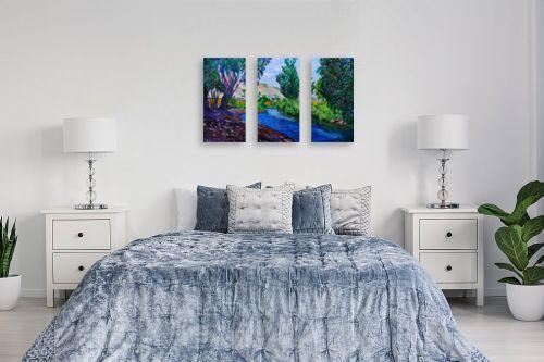 תמונה לחדר שינה - שמואל מושניק - נחל הקיבוצים, עמק בית שאן - מק''ט: 331332