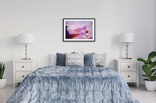 תמונה לחדר שינה - Artpicked - גשם סגול - מק''ט: 331786
