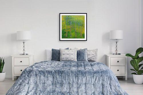 תמונה לחדר שינה - ורד אופיר - יער בחדרה - מק''ט: 333109