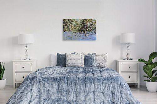 תמונה לחדר שינה - נטליה ברברניק - חורפ בה - מק''ט: 333235