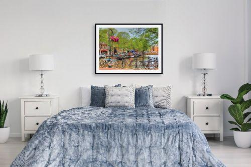 תמונה לחדר שינה - מתן הירש - אמסטרדם 3 - מק''ט: 335615