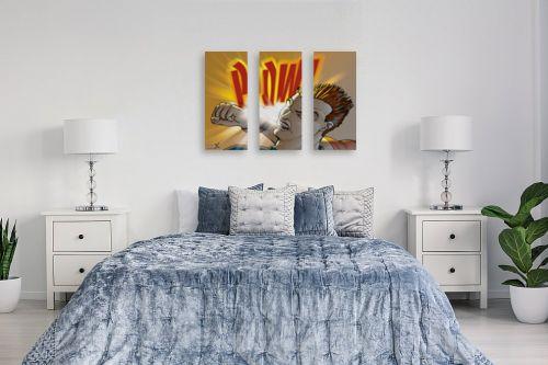 תמונה לחדר שינה - חנן אביסף - Pow - מק''ט: 52124