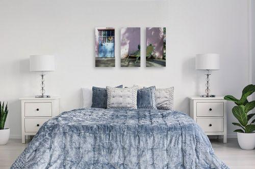 תמונה לחדר שינה - מיכל פרטיג - בית ורוד - מק''ט: 55846