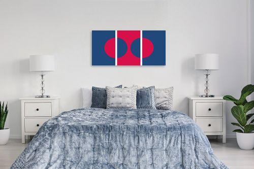 תמונה לחדר שינה - אתי דגוביץ' - דגם עיגולים 1 - מק''ט: 99070