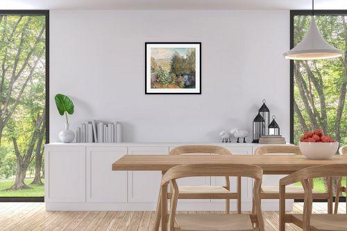 תמונה לפינת אוכל - קלוד מונה - Claude Monet 102 - מק''ט: 115863