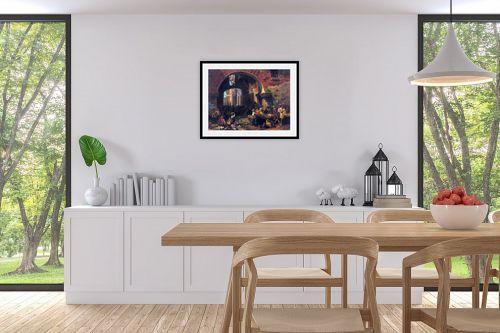 תמונה לפינת אוכל - אלברט בירשטאדט - Albert Bierstadt 047 - מק''ט: 124650