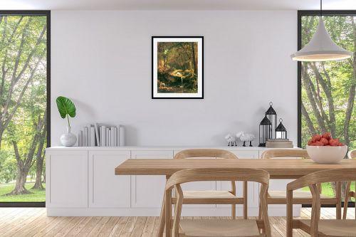 תמונה לפינת אוכל - אלברט בירשטאדט - Albert Bierstadt 052 - מק''ט: 124655