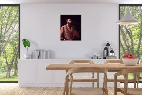 תמונה לפינת אוכל - אדואר מנה - Édouard Manet 047 - מק''ט: 131693
