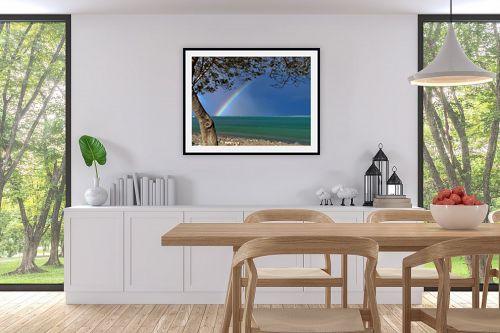 תמונה לפינת אוכל - ארי בלטינשטר - קשת בים המלח - מק''ט: 137874