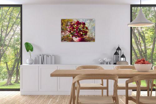 תמונה לפינת אוכל - שולי חיימזון - פרחים - מק''ט: 158452