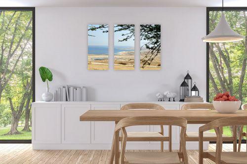 תמונה לפינת אוכל - ארי בלטינשטר - מבט לים המלח 02 - מק''ט: 158616