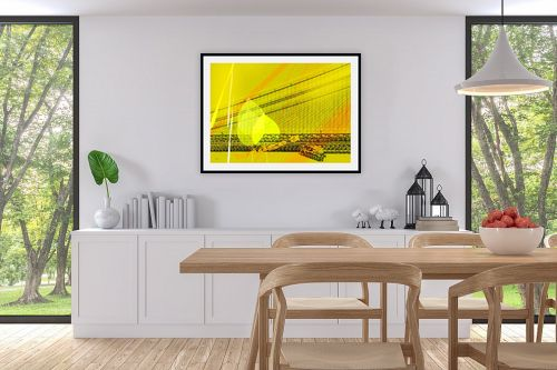 תמונה לפינת אוכל - רוזה לשצ'ינסקי - גשר צהוב - מק''ט: 203851