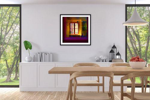 תמונה לפינת אוכל - אורית גפני - כל הצבעים בפנים - מק''ט: 302727