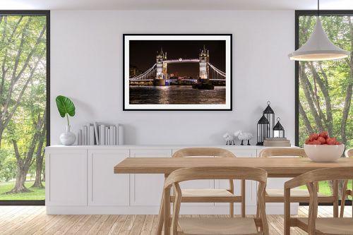 תמונה לפינת אוכל - אלעד דרור - גשר לונדון - מק''ט: 312945