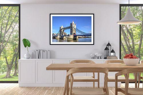 תמונה לפינת אוכל - מתן הירש - Tower Bridge - מק''ט: 313258