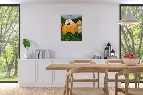 תמונה לפינת אוכל - MMB Art Studio - Healing  - מק''ט: 314636
