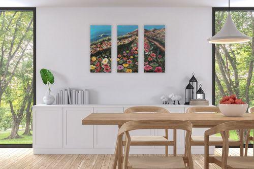 תמונה לפינת אוכל - דיאנה אורן - גבעת פרחים - מק''ט: 316282